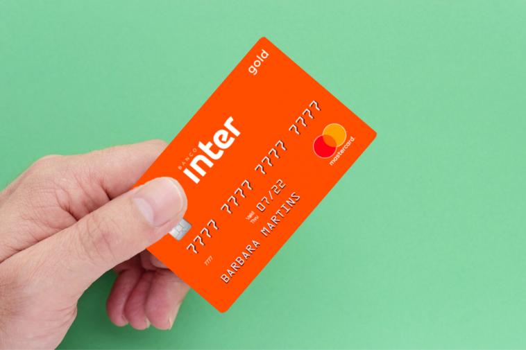Cartão de crédito Inter Gold Mastercard Internacional