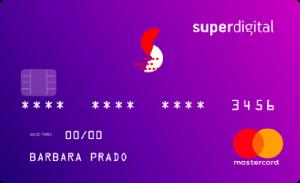 Cartão de crédito superdigital