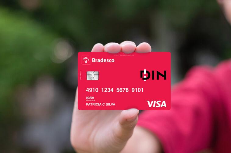 cartao de credito pré-pago bradesco din
