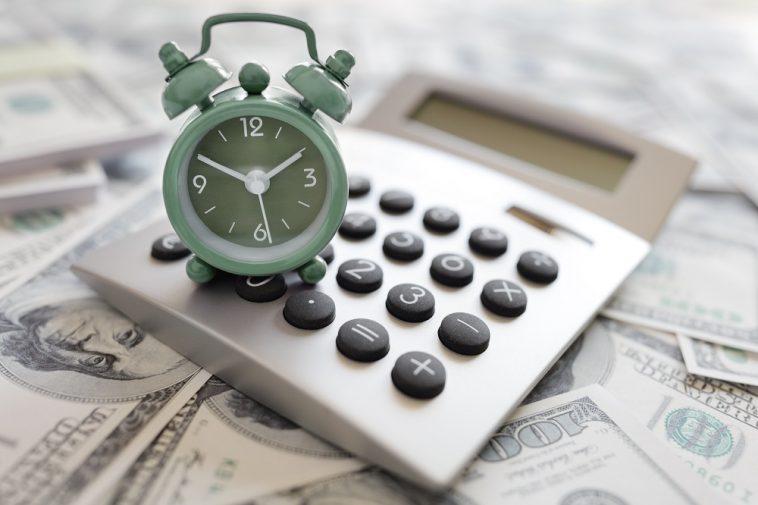 calculadora e relógio