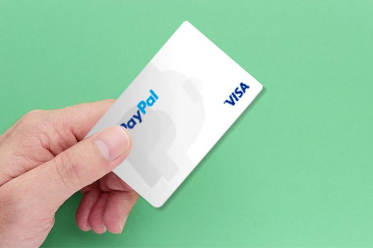 cartão de crédito paypal