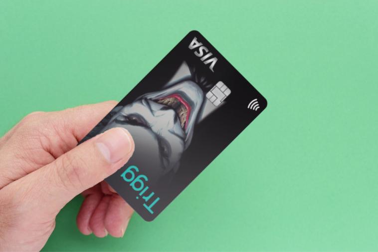 cartão de crédito Trigg Coringa Visa Internacional