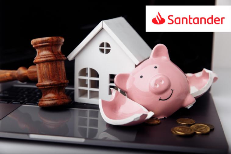 Leilão online de imóveis Banco Santander 2021