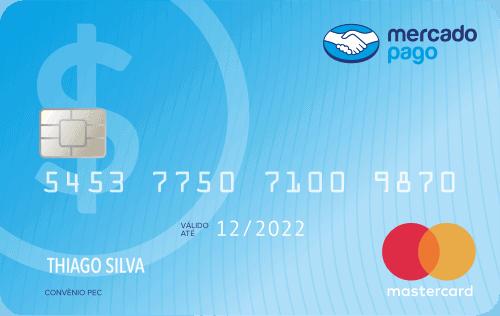 cartão de crédito Mercado Pago Mastercard Internacional