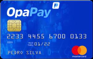 cartão de crédito pré-pago Opapay Mastercard
