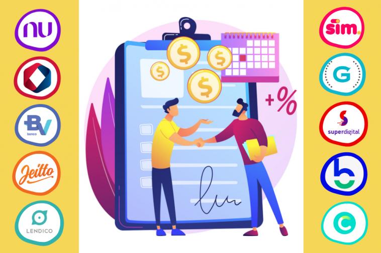 melhores empréstimos pessoais no Brasil
