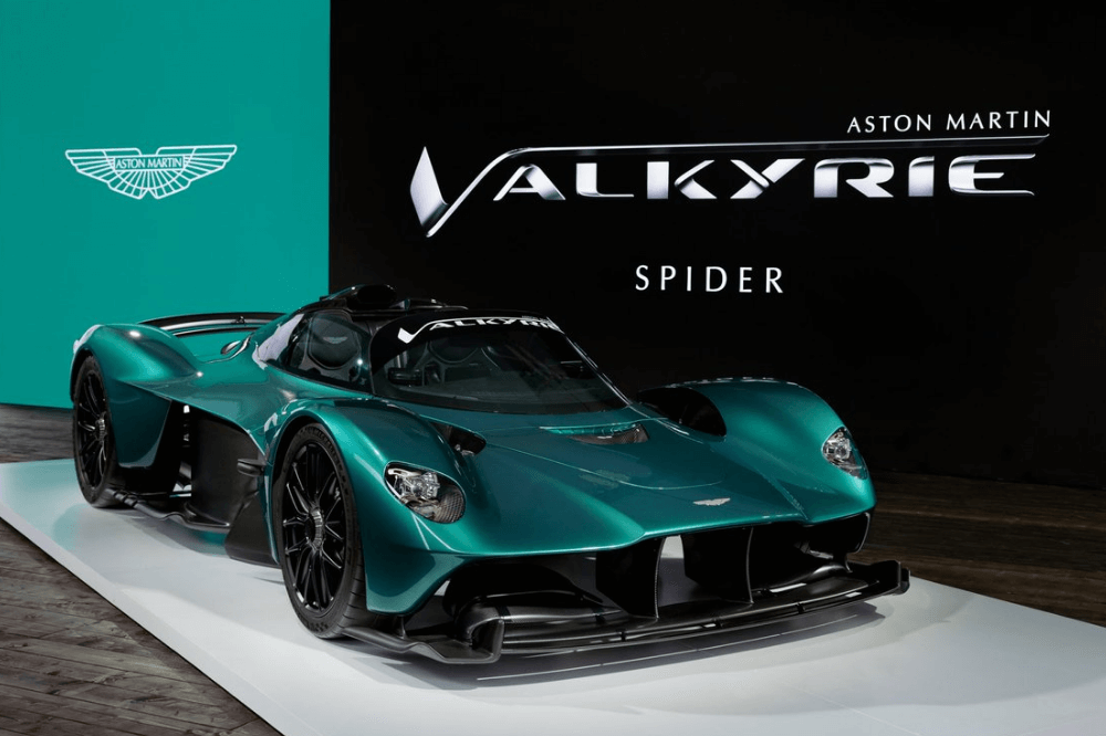 Carro mais caro do mundo: Aston Martin Valkyrie Spider