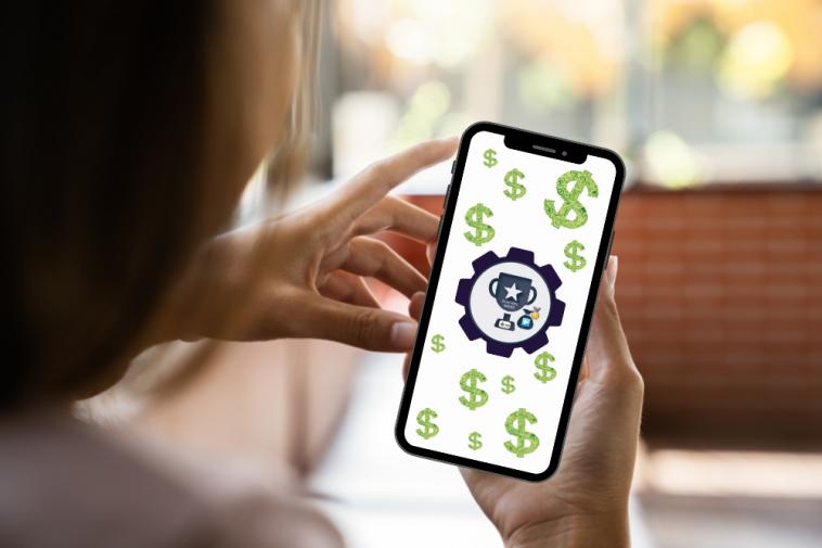 tela de celular mostrando como ganhar com o Cash Pirate