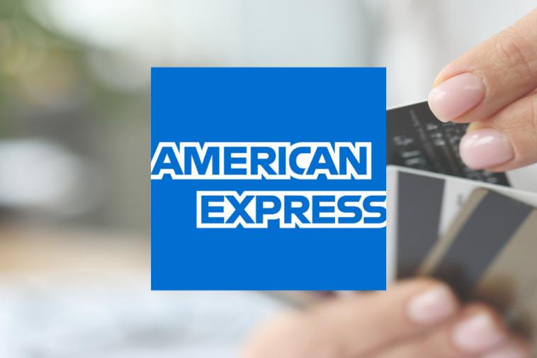 bandeira de cartão de crédito American Express Amex