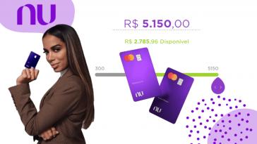 Anitta aumento de limite do cartão de crédito Nubank