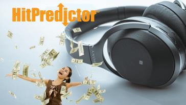 Seja pago para escutar música com o HitPredictor
