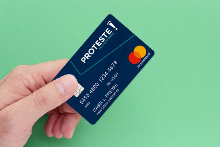 cartão pré-pago Proteste Mastercard Internacional