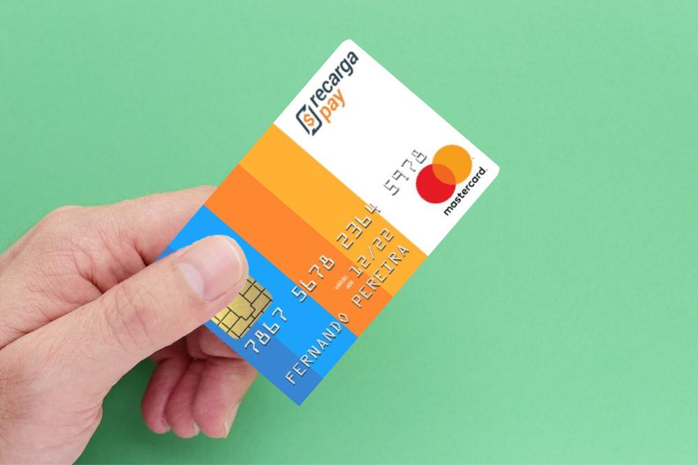 Cartão de crédito pré-pago internacional RecargaPay
