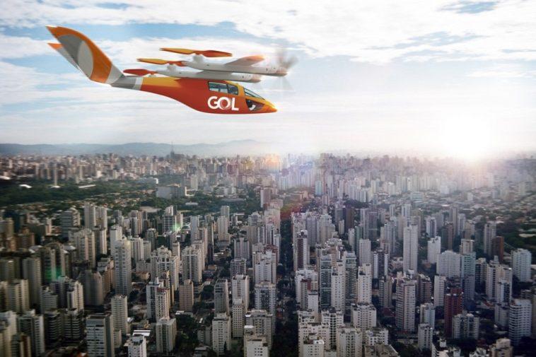 Táxi aéreo Gol para 2025