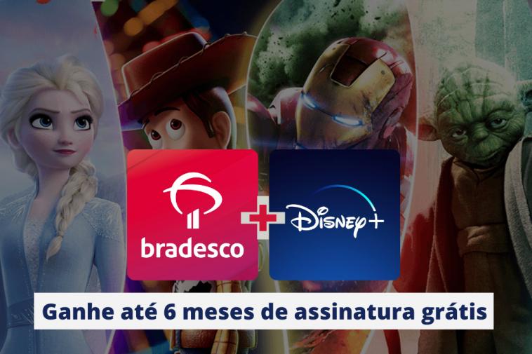 Promoção Bradesco e Disney+