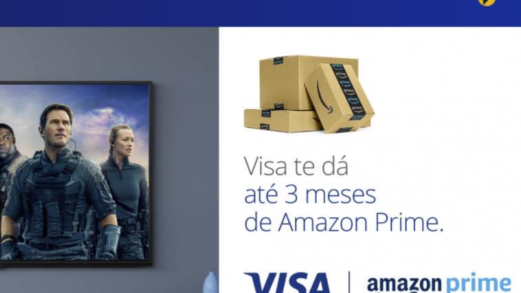 Promoção Amazon Prime grátis com o Vai de Visa