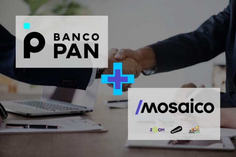 Banco Pan anuncia a compra da Mosaico, empresa dona do Zoom, Buscapé e Bondfaro