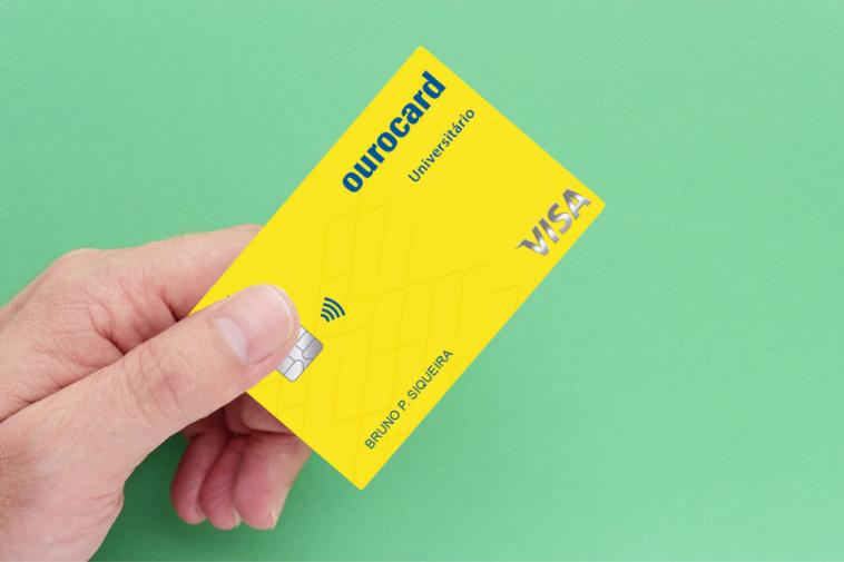 Cartão de crédito Ourocard Universitário BB Visa Internacional